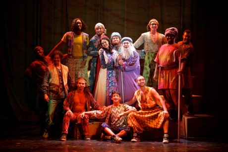 The cast of 'Joseph and the Amazing Technicolor Dreamcoat.' Photo by Daniel Swalec.