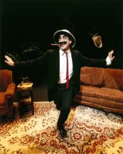 Frank Ferrante as Groucho March. Photo courtesy of Hylton Performing Arts Center.