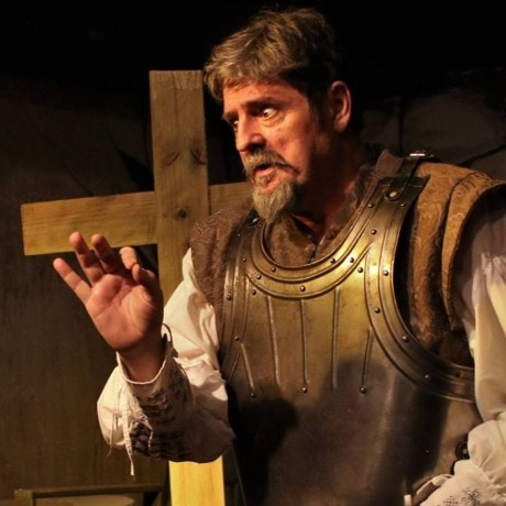 Fred Nelson (Don Quixote/ ). Photo courtesy of Laurel Mill Playhouse.