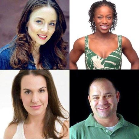 Gillian Shelly Lawler, Sara Barker, Greg Stevens and Felicia Curry.