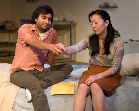 as Suresh and Momo as Illanna. Photo by Harvey Levine.