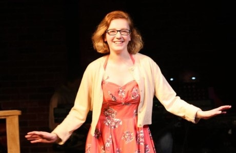 Rachel Wiesenthal in 'A Grand Night for Singing.' Photo by