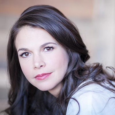 Sutton Foster. Photo courtesy of The Music Center at Strathmore.