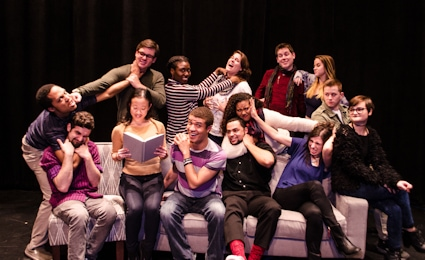 The cast of 'House.' Photo courtesy of Arts Collective@HCC.