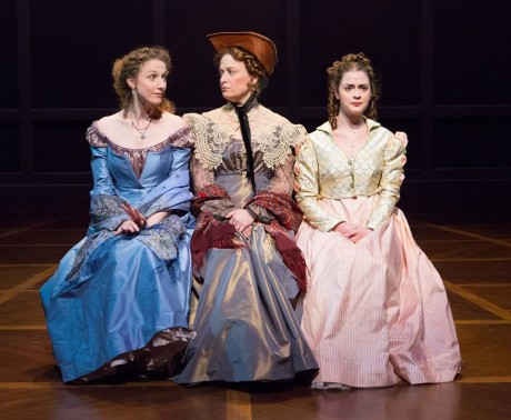 Cassandra Bissell, Susan McKey and Claire Inie-Richards. Photo courtesy of People's Light.
