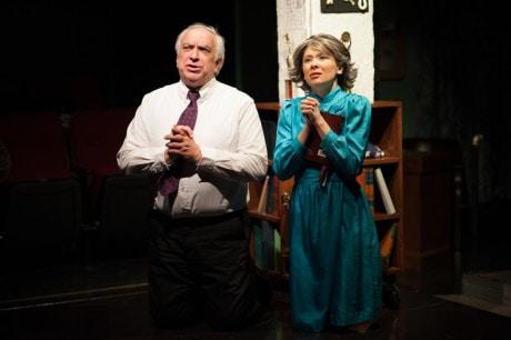 John Sadowsky (Preacher Reily) and Christina Holmes (Mother). Photo by CMAldridge Photography.