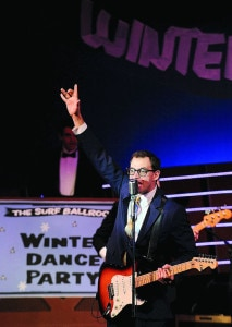 Todd Meredith, (Buddy Holly). Photo by Suzanne Carr Rossi/The Free Lance-Star.