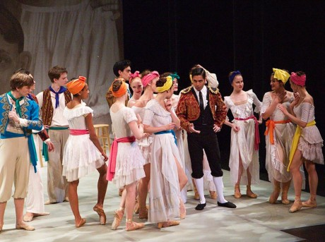 (Escamillo) and cast members of 'Carmen in Havana.' Photo by Angelisa Gillyard.