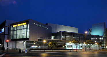 Cultural Arts Center of Montgomery College. Photo courtesy of Montgomery College.