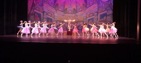 The Prince and the Sweets in the Land of Sweets. Photo courtesy of the Maryland Ballet Theatre.