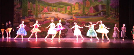 The Fairies and Princess Plum in Fairyland. Photo by Maryland Ballet Theatre.