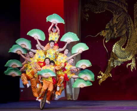 The Peking Acrobats. Photo by Tom Meinhold Photography.