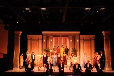 The cast of 'No, No, Nanette.' Photo by Erin Sullivan.