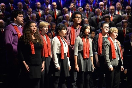 The GenOut Chorus performs. Photo courtesy of GMCW.