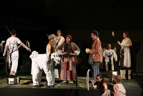 Cast members of 'Into the Woods.' Photo courtesy of Good Counsel Theatre Company.