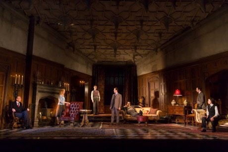 The cast of 'The Mousetrap.' Photo by T. Charles Erickson.