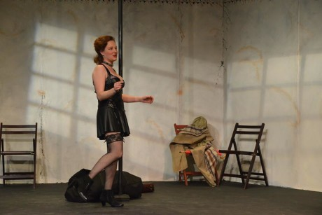Anne Shoemaker (Vanda). Photo courtesy of Fells Point Corner Theatre.
