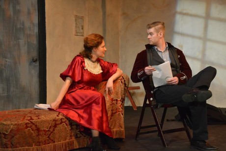 Anne Shoemaker and Andrew Porter. Photo courtesy of Fells Point Corner Theatre.