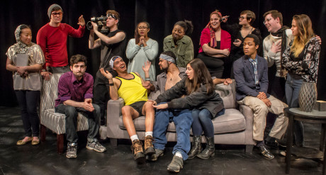 Top Row, Left to Right: Iris Shih, Christian Preziosi, Alex Becker, Sierra Young, Chaseedaw Giles, Courtney Branch, Jordan Colea, Colin Riley, Taylor Purnell Bottom Row, Left to Right: Thomas Matera, Warren Harris, Wesley LeRoux, Gabrielle Amaro, and Brandon Furr. Photo by St. Johnn Blondell.