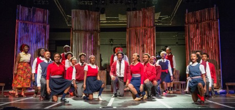Cast of 'Sarafina!' Photo courtesy of Howard University.