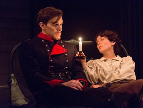 Ben Michael as Giorgio and Liz Filios as Fosca in Arden Theatre Company's 'Passion.' Photo by Mark Garvin.