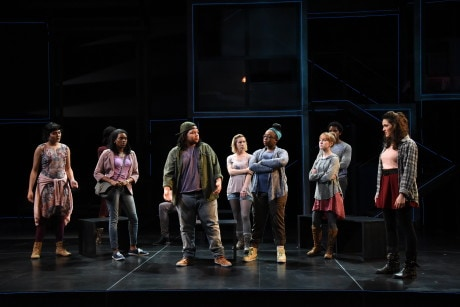 The cast of 'Baltimore.' Photo by Stan Barouh.