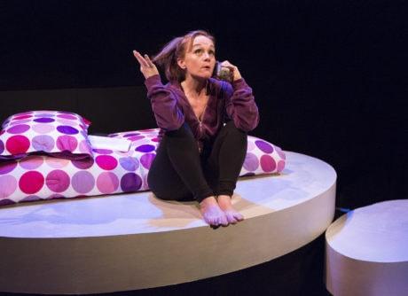 Jennifer Childs as Tabitha. Photo by Mark Garvin.