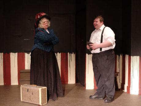 Maureen and Stephen Yednock (Leon Czolgosz). Photo by John Cholod.