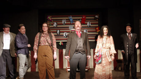 The cast of 'Assassins.' Photo courtesy of Laurel Mill Playhouse.