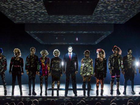 The cast of American Psycho. Photo by Jeremy Daniel.