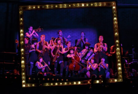 The 2016 National Touring cast of Roundabout Theatre Company's CABARET. Photo by Joan Marcus.