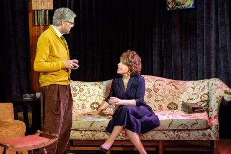 D. Scott Graham (George) and Karen Jadlos Shotts (Martha). Photo courtesy of City of Fairfax Theatre Company.