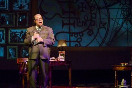 Max McLean as C.S. Lewis. Photo by Jeremy Daniel.