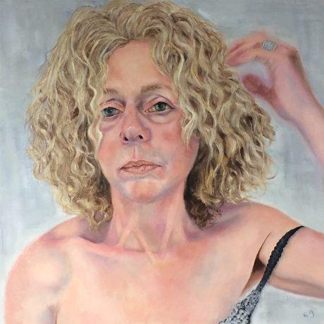 Ellensue Gross, Ellensue, oil on canvas. Photo courtesy of the artist.