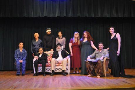 The cast. Photo by David Seidman.