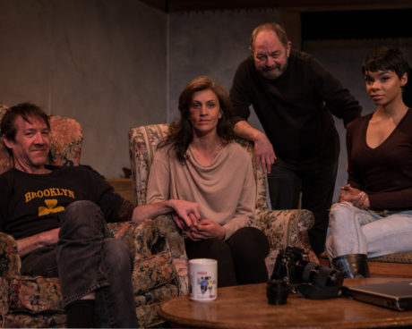 L to R: Michael Donlan, Claire Carberry, Jeff Murray, and Linae Bullock. Photo by Harry Bechkes.
