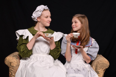 (Martha) and (Mary ). Photo courtesy of The Colonial Players.