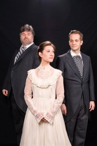 (Neville) (Lilly) and Archibald. Photo courtesy of Colonial Players.