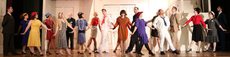The cast of 'Thorughly Modern Millie.' Photo by Shealyn Jae Photography.