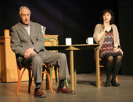 Mort Patterson (Frank Elgin) and Pierlisa Chiodo Steo (Georgie Elgin). Photo by Gil Todd.