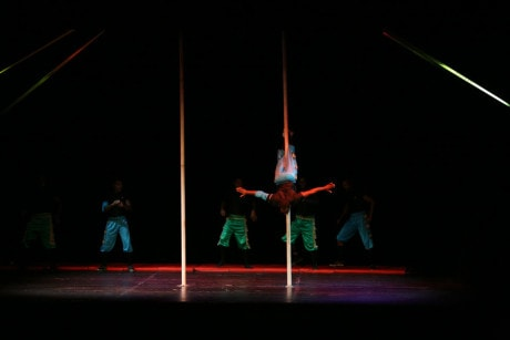 The Pole Act. Photo courtesy of their website.
