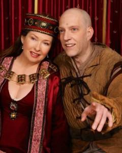 Cherie Weinert and Eric C. Stein. Photo by Tom Lauer.