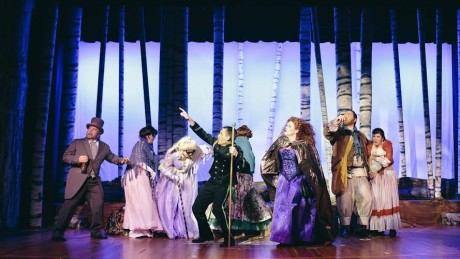 The cast of 'Into the Woods.' Photo by Kevin Grall.