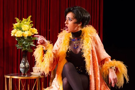 Melissa Wimbish as Josephine Baker. Photo by Teresa Wood.