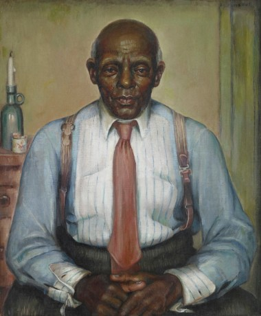 Marie Hull, An American Citizen, 1936. Oil on Linen. 30 x 25.5 in. Collection of Mississippi Museum of Art.