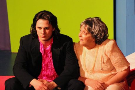 Austin Jacobs and Phyllis J. Everette. Photo by Photo by Lauren Winther-Hansen.