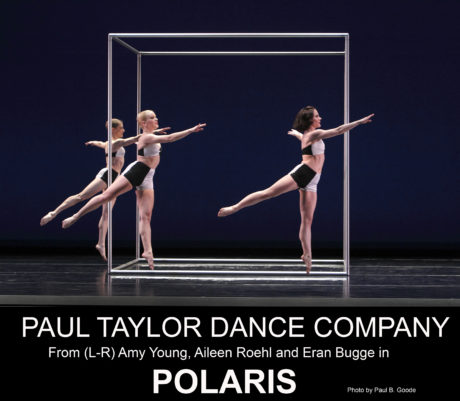 Paul Taylor Dance Company's 'Polaris.' Photo by Paul B. Goode.