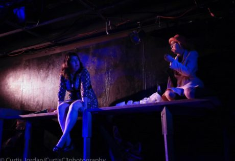 Deborah Randall and Amy E Belschner Rhodes. Photo by Curtis Jordan.