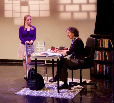 Lizzi Albert (Lisa Morrison) and Sue Struve (Ruth Steiner). Photo by David Jung.