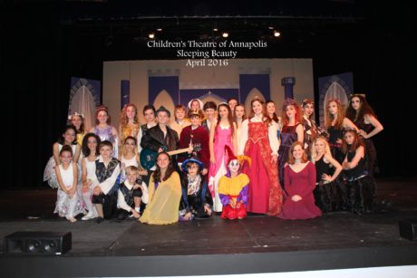 Cast of 'Sleeping Beauty.' Photo courtesy of The Children's Theatre of Annapolis.